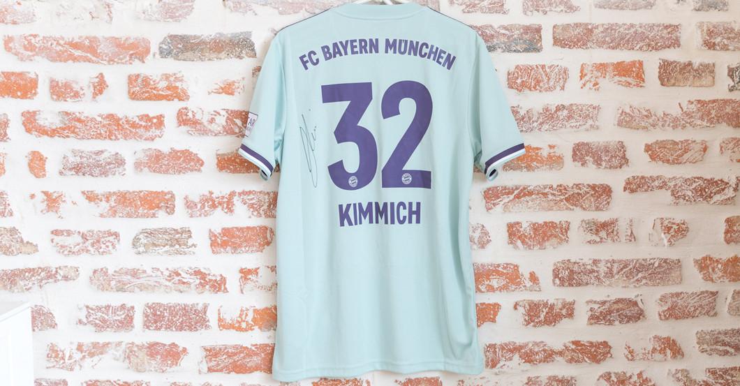 buy popular 5277f 870af Bayern Munich Shirt Signed by Joshua Kimmich