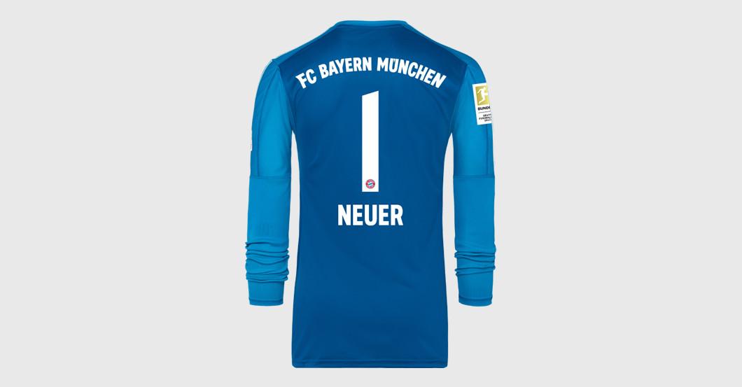 low priced a330e c518a Straight from Bayern Munich vs BVB: Manuel Neuer's Worn Shirt