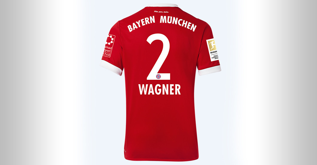 Straight From Fc Bayern Versus Bvb Sandro Wagner S Jersey
