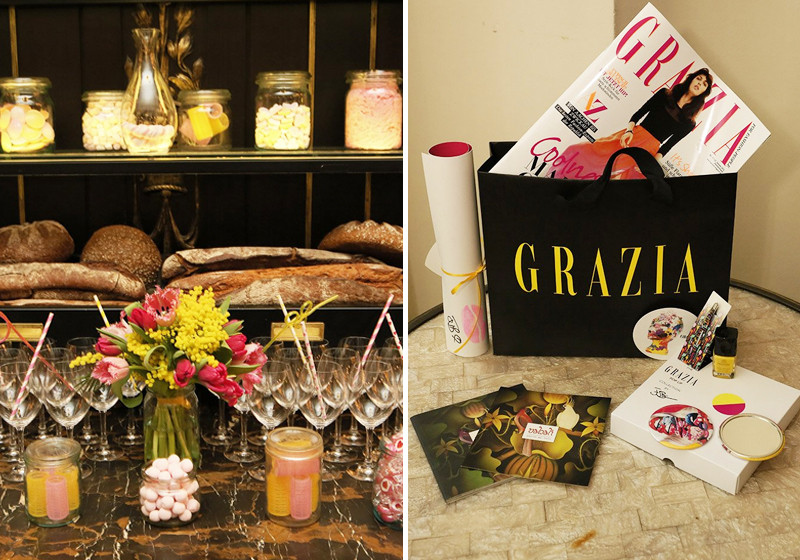 Grazia Pop Up Breakfast