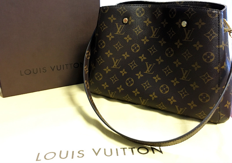 cb9c869a64377 Besonderes Accessoire  Original Louis Vuitton Handtasche