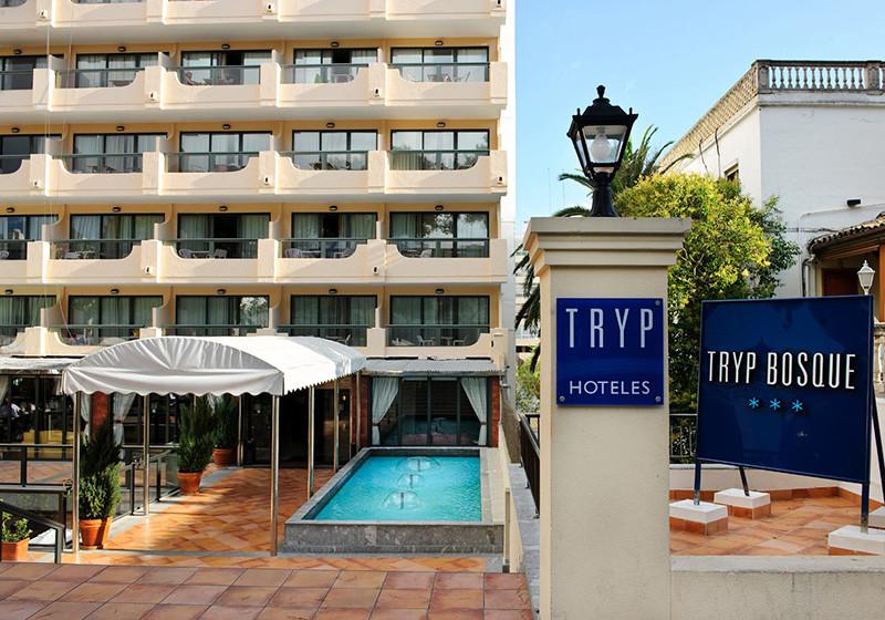wochenende auf mallorca zwei n chte im tryp palma bosque hotel. Black Bedroom Furniture Sets. Home Design Ideas