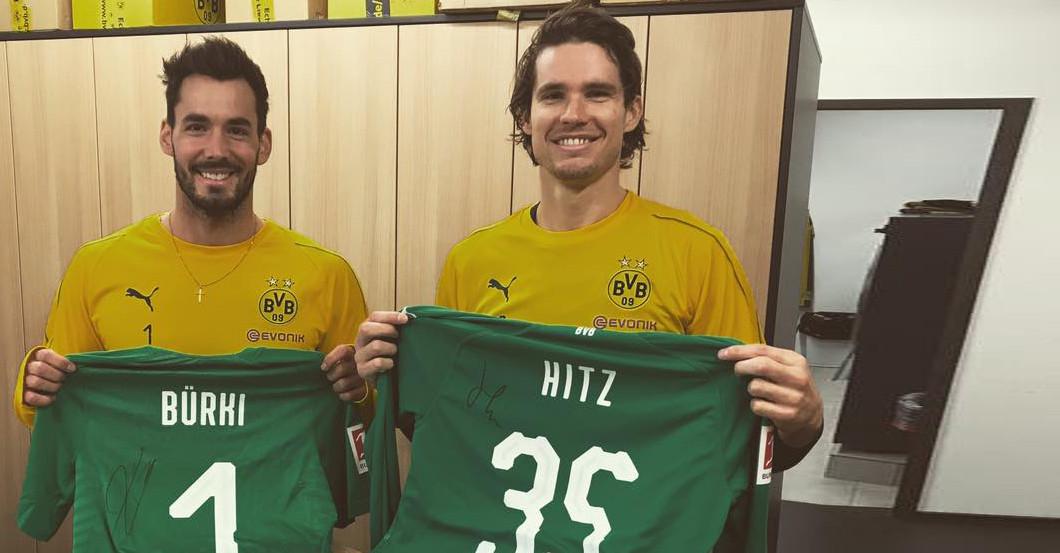 Bvb Keeper Marwin Hitz S Signed Shirt