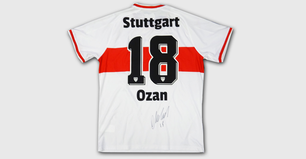 separation shoes 4a448 4e74e VfB-Neuzugang Ozan Kabak stiftet sein erstes Trikot