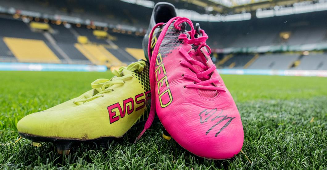 Von BVB Superstar Marco Reus – seine Trainingsschuhe