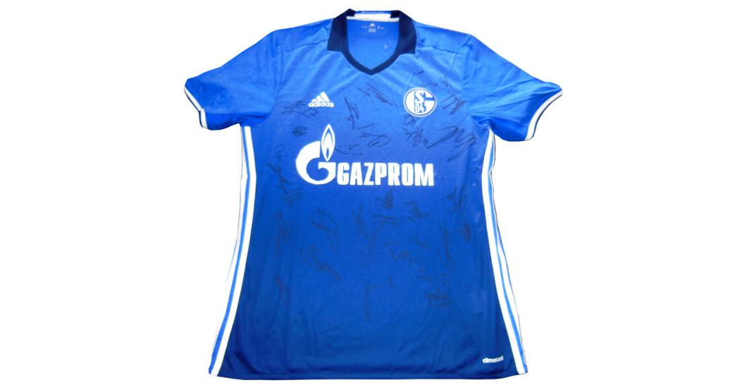 new style b4c9c cffef FC Schalke 04 – Trikot von der Mannschaft signiert
