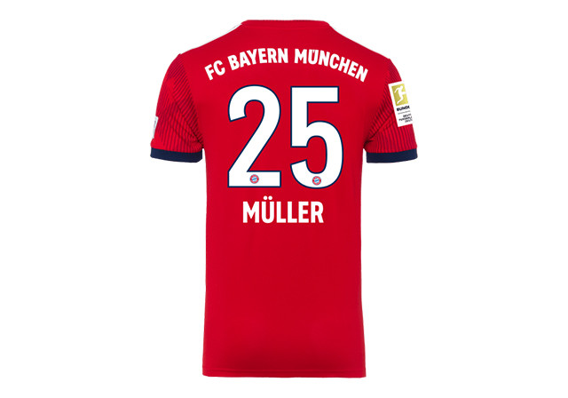 best authentic 2bff4 35b66 Straight from Bayern Munich vs BVB: Thomas Müller's Worn Shirt