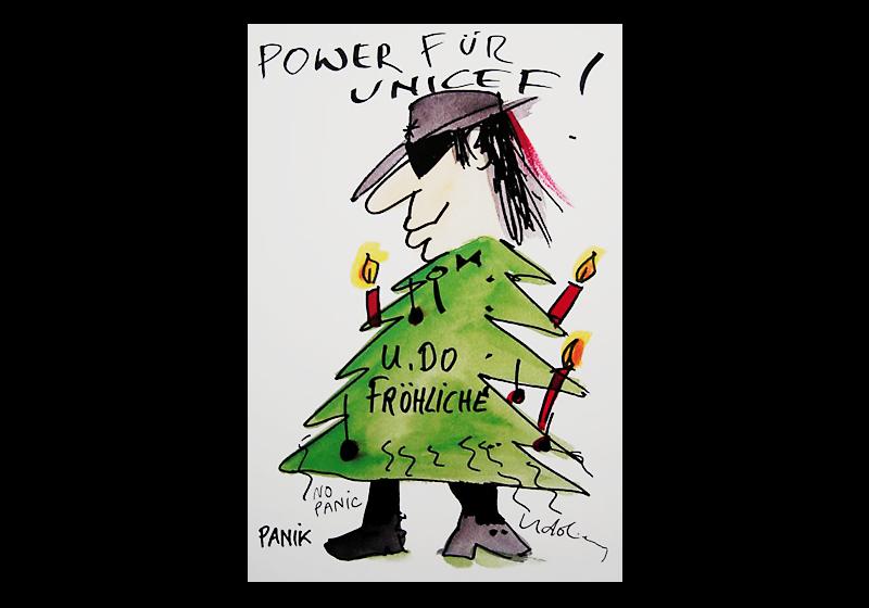 Weihnachtskarten Udo Lindenberg.U Do Fröhliche Xxl Weihnachtskarte Von Udo Lindenberg