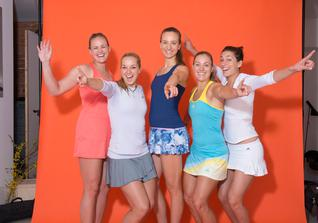 Fed Cup Fotoshooting